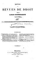 Revue des revues de droit publiées a l'étranger