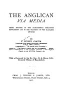 The Anglican Via Media