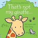 That's Not My Giraffe