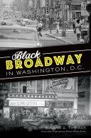 Black Broadway in Washington  DC