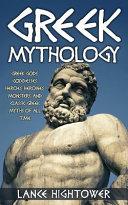 Greek Mythology Book