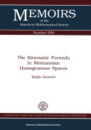 The Kinematic Formula in Riemannian Homogeneous Spaces