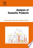 """Analysis of Cosmetic Products"" by Amparo Salvador, Alberto Chisvert"
