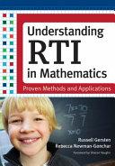 Understanding RTI in Mathematics