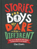 Stories for Boys Who Dare to Be Different Book Cover