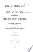 Revised Ordinances of the City of Seattle Book