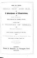 Pdf A Treasury, Or Storehouse of Similes