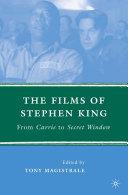 The Films of Stephen King Pdf/ePub eBook