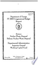 Energy and Water Development Appropriations For 2006, Part 4B, 109-1 Hearings, *.