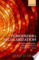 Periodizing Secularization