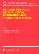 Modern Methods of Analytical Mechanics and Their Applications