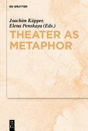 Pdf Theater as Metaphor Telecharger