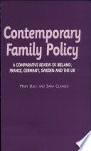 Contemporary Family Policy