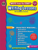 Write from the Start  Writing Lessons Grd 5