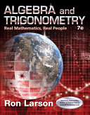 Algebra and Trigonometry  Real Mathematics  Real People