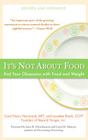 It's Not about Food Pdf/ePub eBook