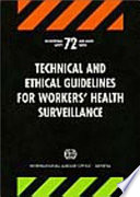 Technical and Ethical Guidelines for Workers  Health Surveillance