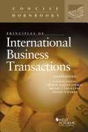 Principles of International Business Transactions