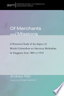Of Merchants And Missions