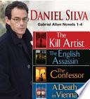 Daniel Silva GABRIEL ALLON Novels 1-4 image