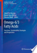 Omega 6 3 Fatty Acids Book PDF