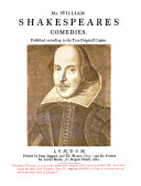 Shakespeare a Reprint of His Collected Works as Put Forth in 1623