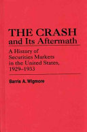 The Crash and Its Aftermath ebook