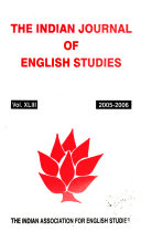 The Indian Journal of English Studies