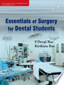 Essentials of Surgery for Dental Students   E Book Book