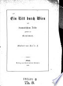 Ein Ritt durch Wien auf dramatischem Felde. Illustrirt von Laci v. F