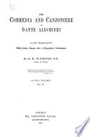 The Divina Commedia and Canzoniere of Dante Alighieri