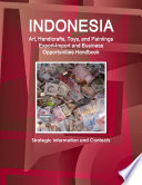 Indonesia Art Handicrafts Toys And Paintings Export Import And Business Opportunities Handbook Strategic Information And Contacts