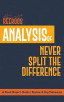 Analysis of Never Split the Difference