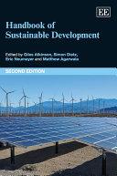 Handbook of Sustainable Development