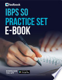 Ibps So Practice Set Ebook Download The Question Set Pdf Today