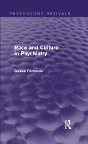 Race and Culture in Psychiatry (Psychology Revivals) Pdf/ePub eBook