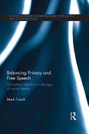 Balancing Privacy and Free Speech: Unwanted Attention in the Age of ...