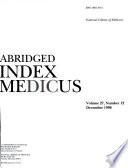 Abridged Index Medicus Book