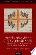 The Renaissance of Roman Colonization Book PDF
