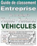 Guide de classement catégorie 15 : Factures et photos de vos véhicules, autos... Entreprise