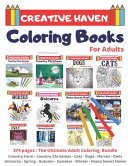 Creative Haven Coloring Books For Adults Book PDF
