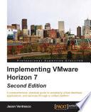 Implementing VMware Horizon 7 Book
