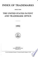 Index of Trademarks Issued from the United States Patent and Trademark Office Book PDF