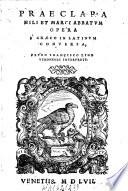 Praeclara Nili et Marci abbatum opera