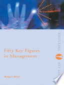 Fifty Key Figures in Management Book