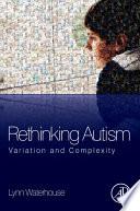 Rethinking Autism Book PDF