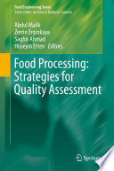 Food Processing  Strategies for Quality Assessment Book