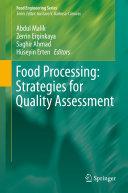 Food Processing: Strategies for Quality Assessment Pdf/ePub eBook