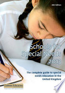 Schools For Special Needs 2012 2013