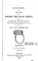A History of the Life of Edward, the Black Prince (etc.) 2. Ed